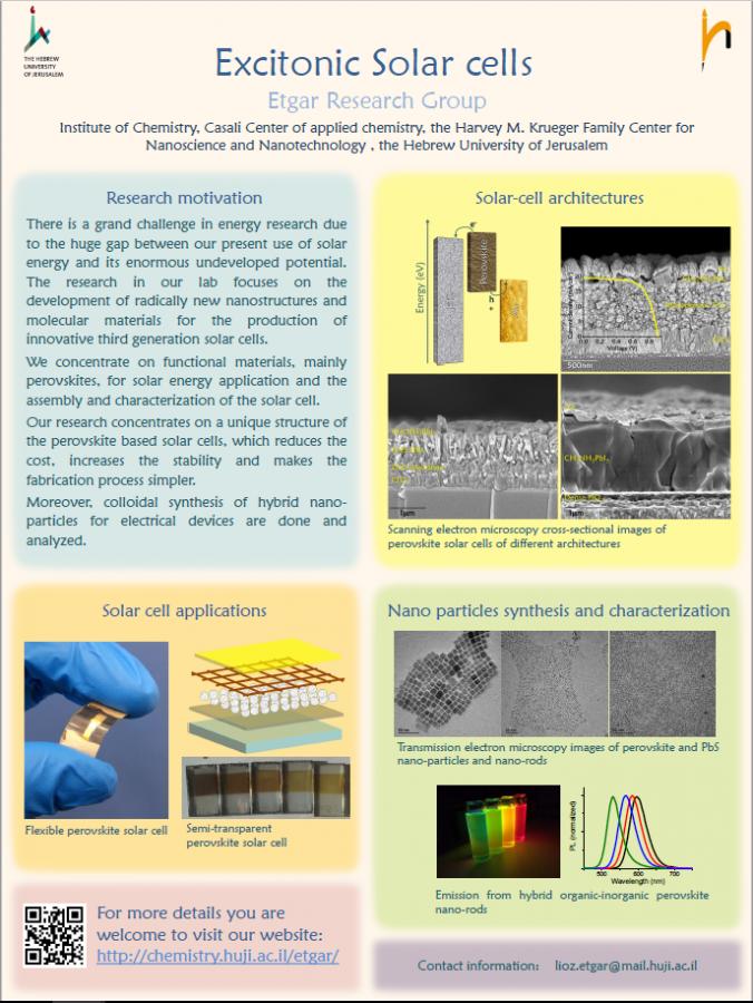 Excitonic solar cells