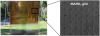Fully functional semi-transparent perovskite solar cell fabricated at ambient air